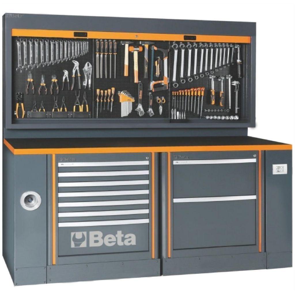 Beta Tools C55 Ab Pro 1 Garage Furniture Combinat Garage Tools Storage Garage Tools Storage Cabinet Orga Garage Furniture Garage Shop Garage Workshop