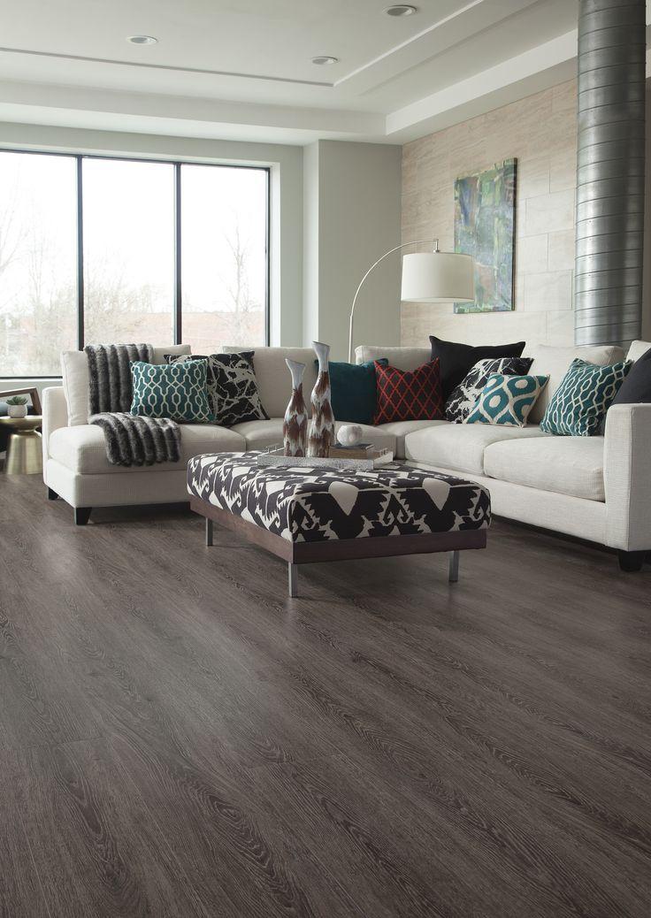 Dark Gray Pvc Flooring Plank For Home Home Decor Renovation Hardware Home