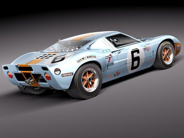 Ford Gt40 1963 1969 Ford Gt40 Gt40 Ford Gt