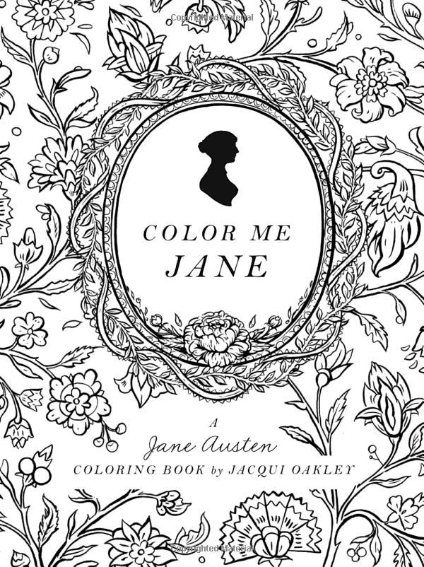oakley sunglasses coloring pages | Amazon.com: Color Me Jane: A Jane Austen Adult Coloring ...