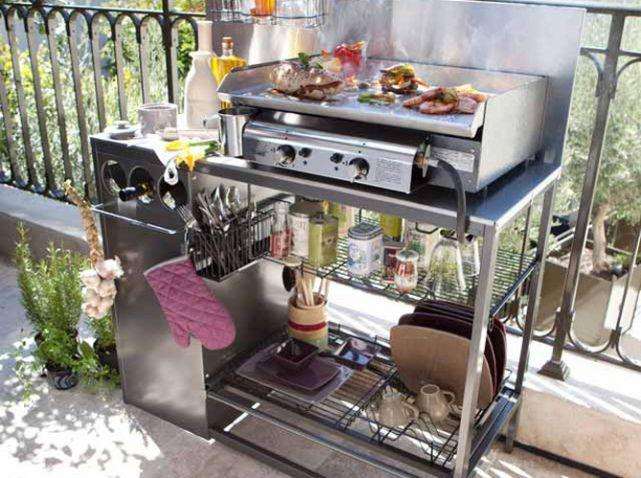 cuisine ext rieure 15 mod les pratiques et esth tiques elle d coration castorama cuisine. Black Bedroom Furniture Sets. Home Design Ideas