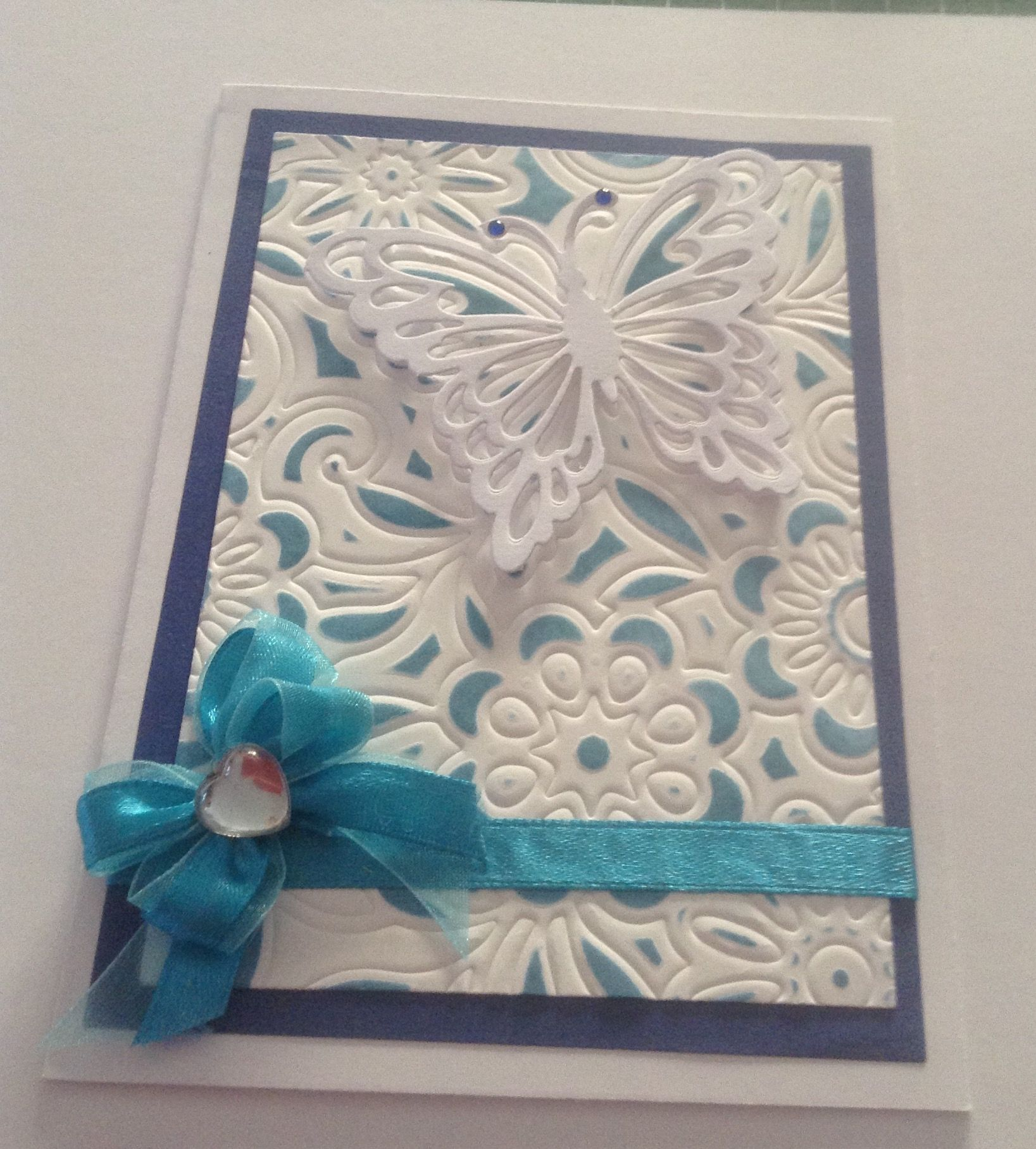 Hand made card using Shapeabilities Butterfly magic S5-153I