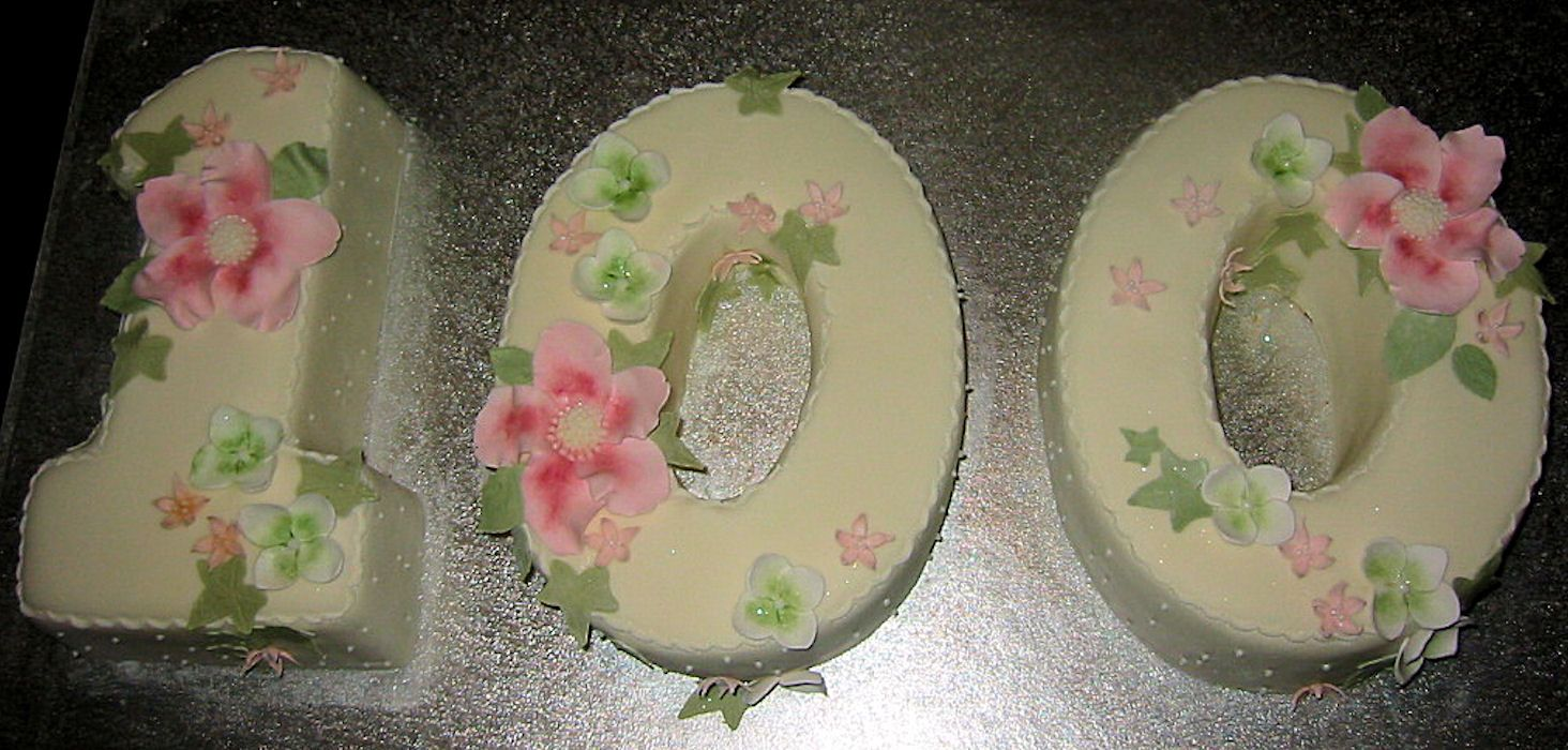 100 Birthday Party Ideas Cakes 100th Birthday Cake Ideas With