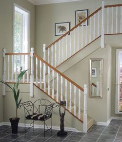 White Primed Stair Parts Painted With A Coat Of White Primer Richard  Burbidge Stairparts Online