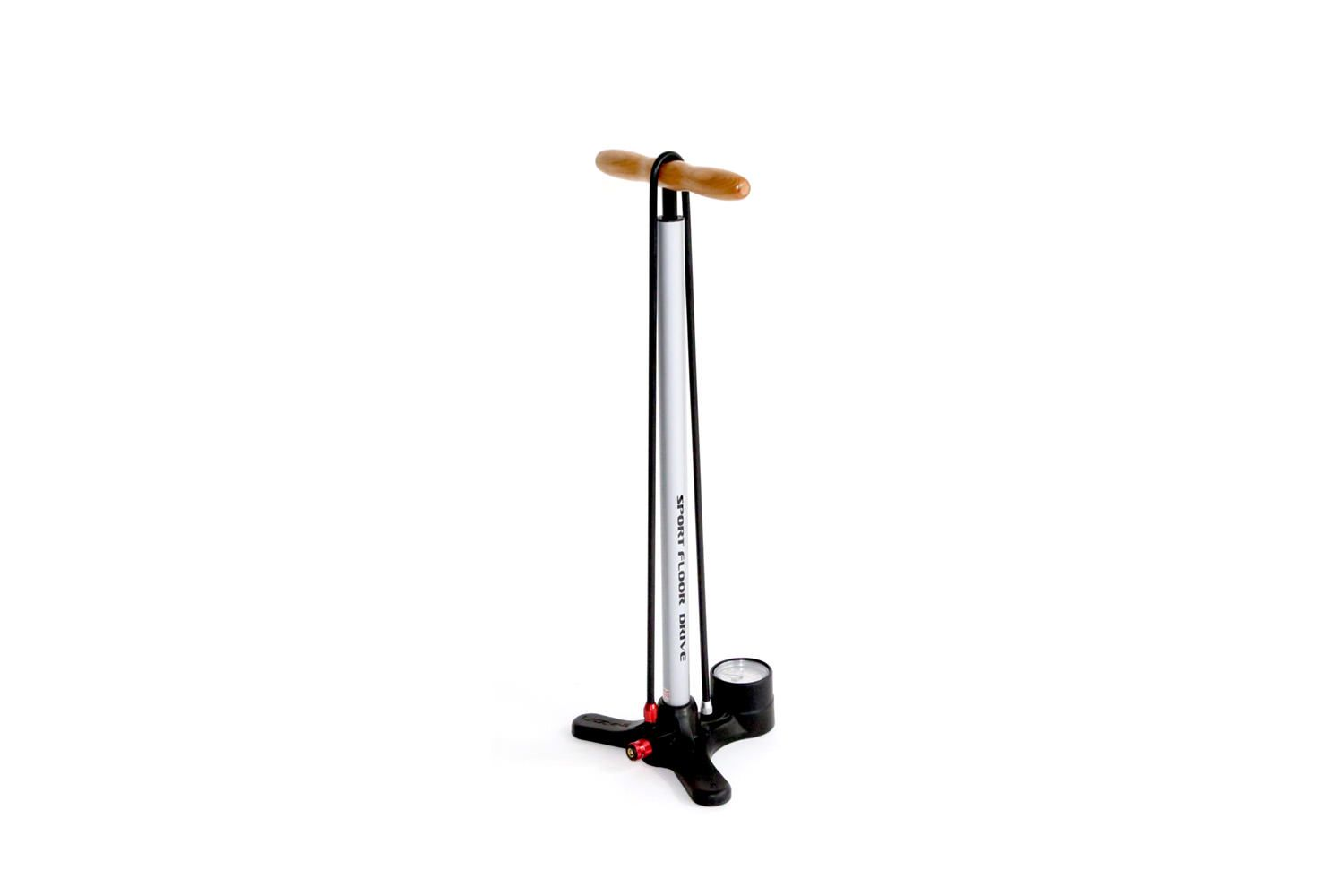 Light Weight Floor Pump With A Plastic Base Suitable For Presta