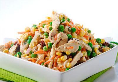 salpicon de pollo récipe peru