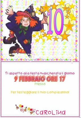 birthday party for carnival
