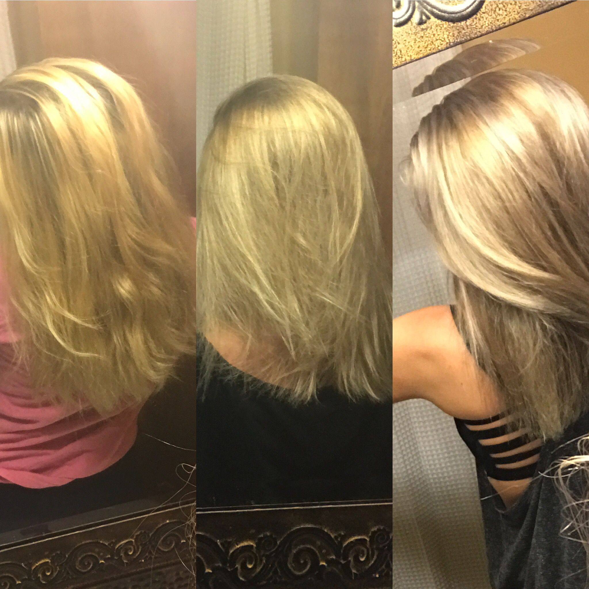 what toner to use on yellow hair
