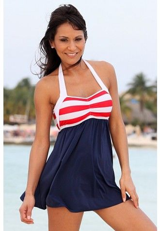 Sailor Girl Swim Dress, great for all figures and even works well for maternity $114.99