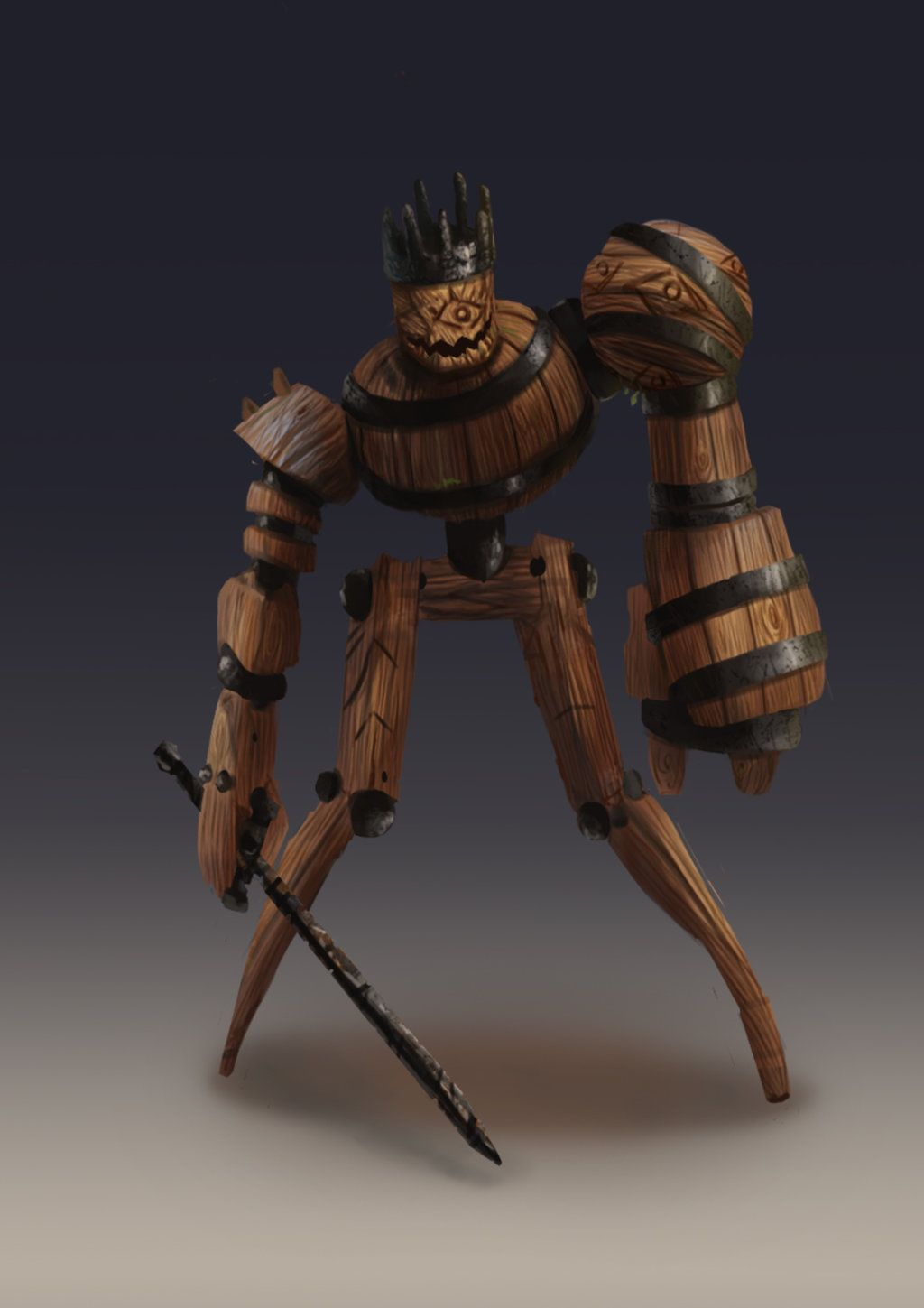 Wood Golem Google Search Chapter3 Rpg Dungeons Dragons Fantasy