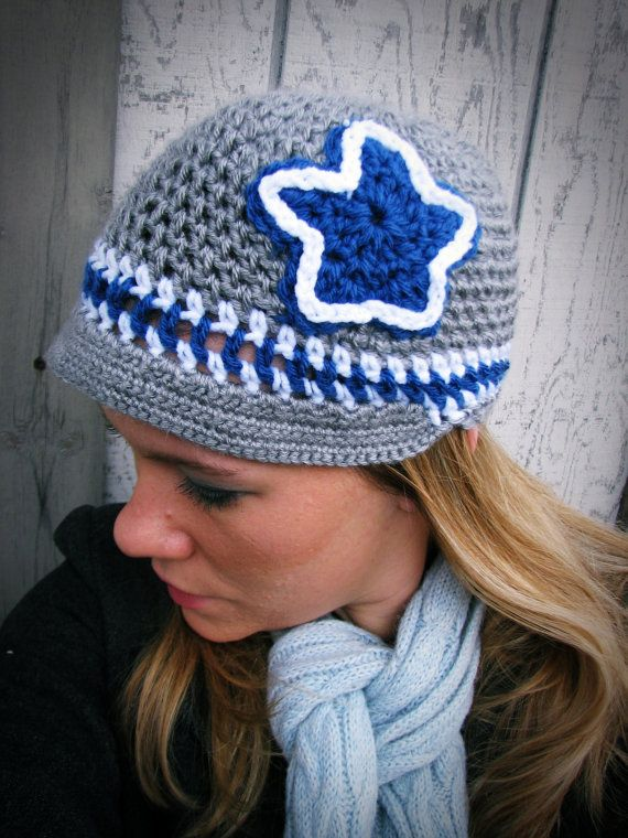 Dallas Cowboys Crochet Hat | style for me | Pinterest