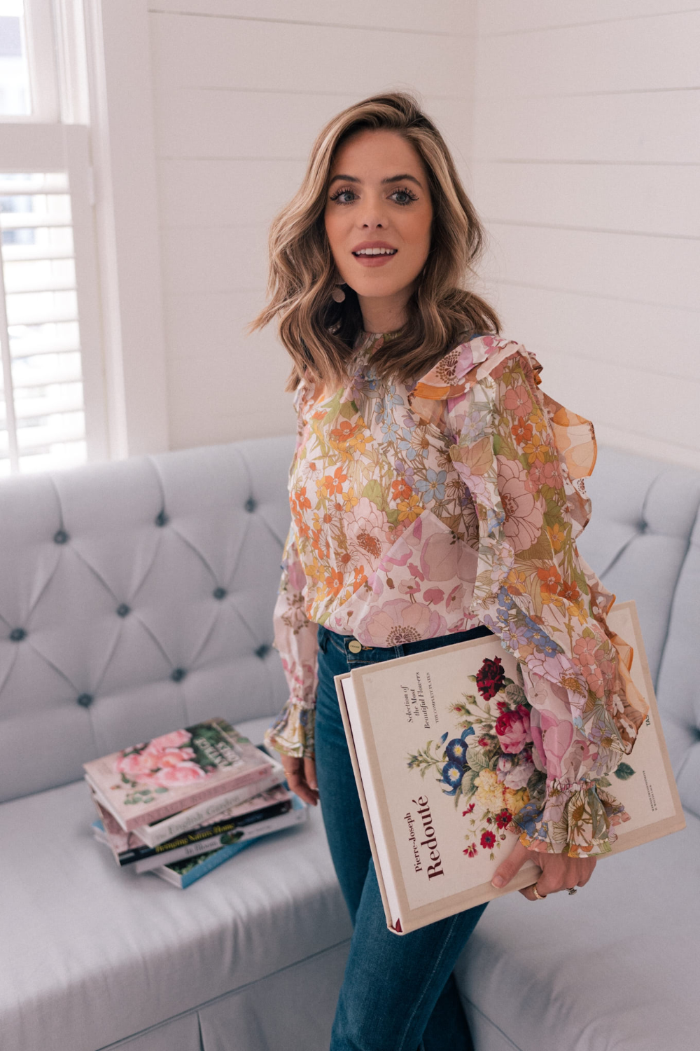 Check out today's blog post for the winter floral tops and dresses I've been admiring lately, all of which are available at Nordstrom #sponsored ShopStyle