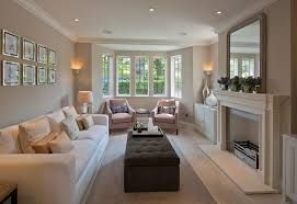 how to decorate a long living room with fireplace in the middle furniture decor ideas for small image result narrow