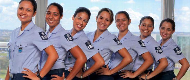 Brazilian Air Force Forcas Armadas Mulheres Militares E Forca
