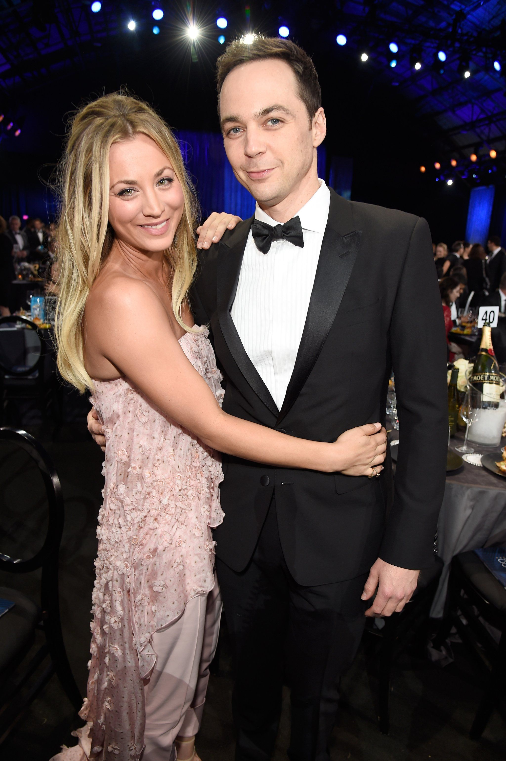 Jim Parsons And Kaley Cuoco Relationship