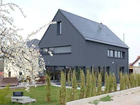 faszination haus passivhaus in kleinkarlbach von architekturb ro f r passiv und. Black Bedroom Furniture Sets. Home Design Ideas