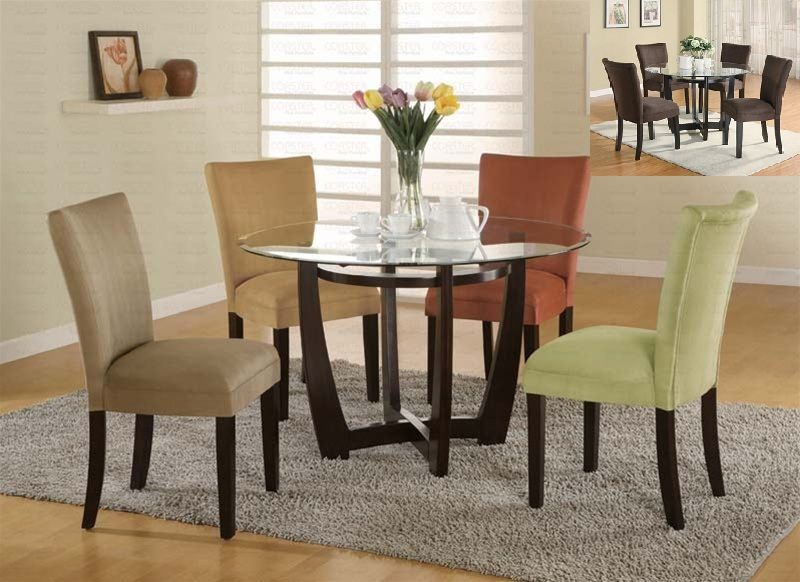 Harmony Round W/ 4 Chairs My New Apartment-Final Decor Pinterest