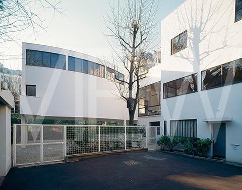 Villa la roche villa jeanneret paris le corbusier motyl arch home wht - Villa la roche corbusier ...
