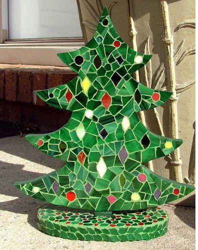 Christmas Tree Mosaic 2 Flickr Photo Sharing Tree Mosaic Christmas Mosaics Mosaic