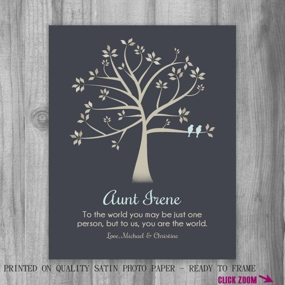 Personalized Christmas Gift for AUNT To Us You Are The World Poem Custom Art Print Niece Neph...  Personalized Christmas Gift for AUNT To Us You Are The World Poem Custom Art Print Niece Nephew for #Art #Aunt #christmas #custom #gift #Neph #Niece #Personalized #Poem #Print #World