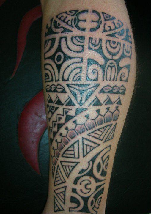 Tatuajes Media Pierna Gemelo Max Tattoo Tradition Moderne Mejores