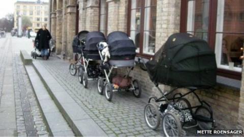 Babies That Nap Outside Ella S Wool Denmark Copenhagen Denmark Copenhagen Cafe