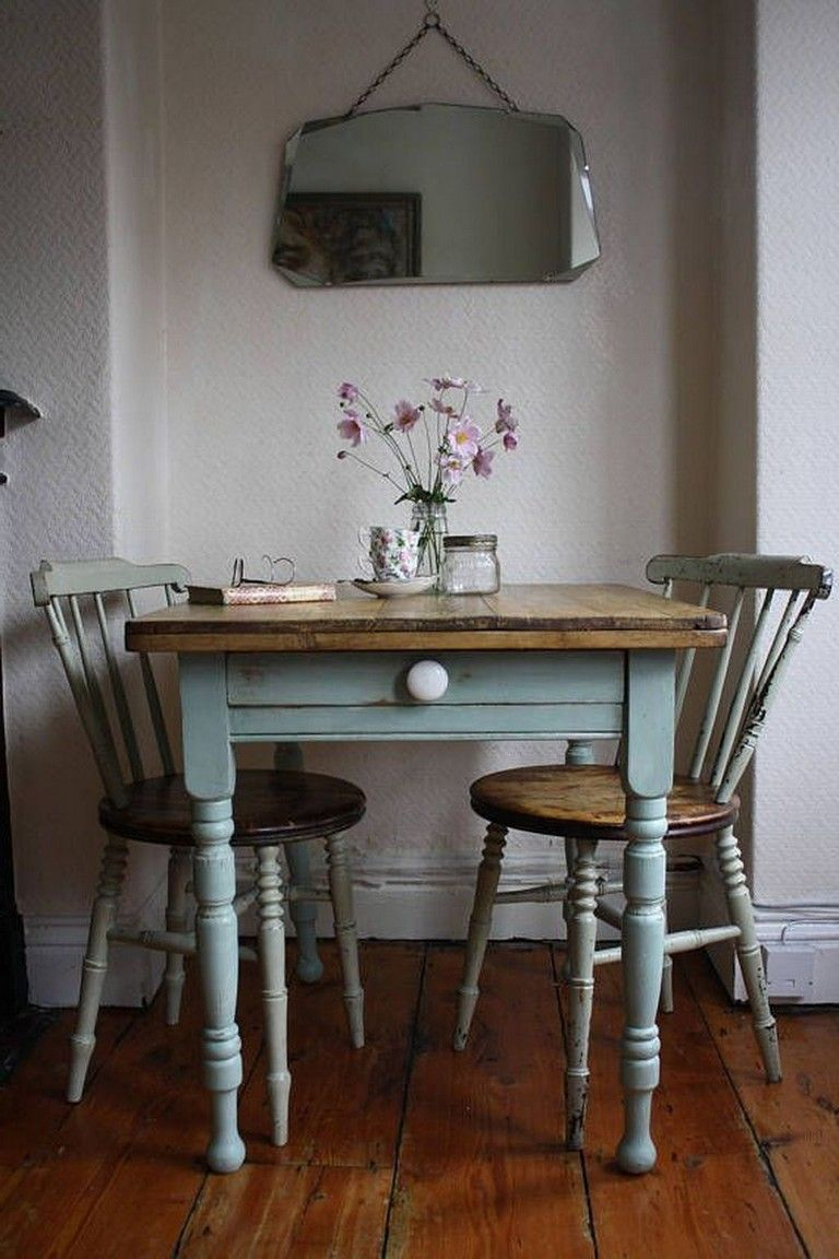 60 Beautiful Farmhouse Dining Room Table And Decorating Ideas Dining Room Small Vintage French Kitchen Dining Room Table Decor Vintage style kitchen tables