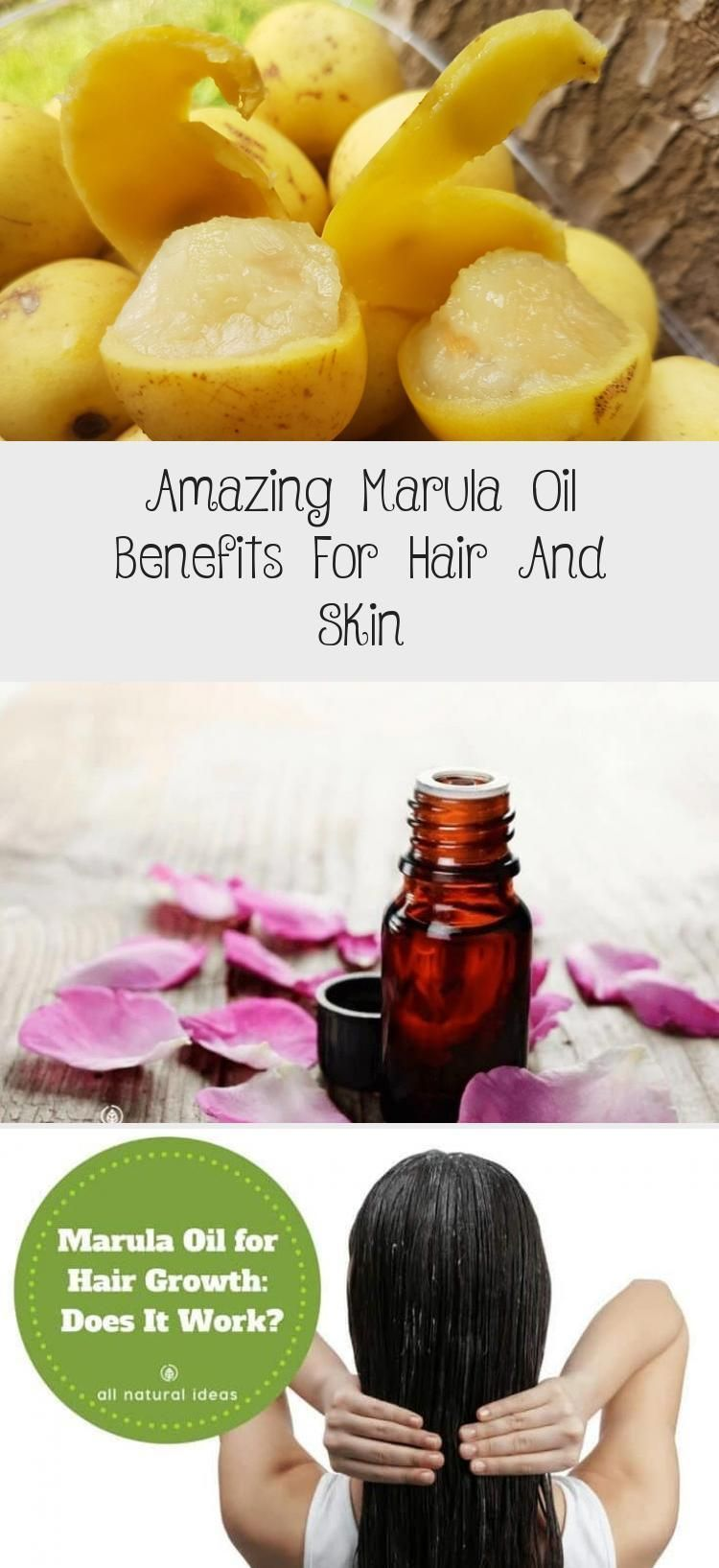 Using Marula Oil For Hair Growth Is Becoming More Popular But Does It Really Wo Growth Hair Marula Oil Popular In 2020 Ol Fur Haarwachstum Haar Wachstum Haarol