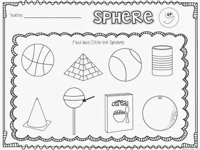**Spheres - free to print (just one page)
