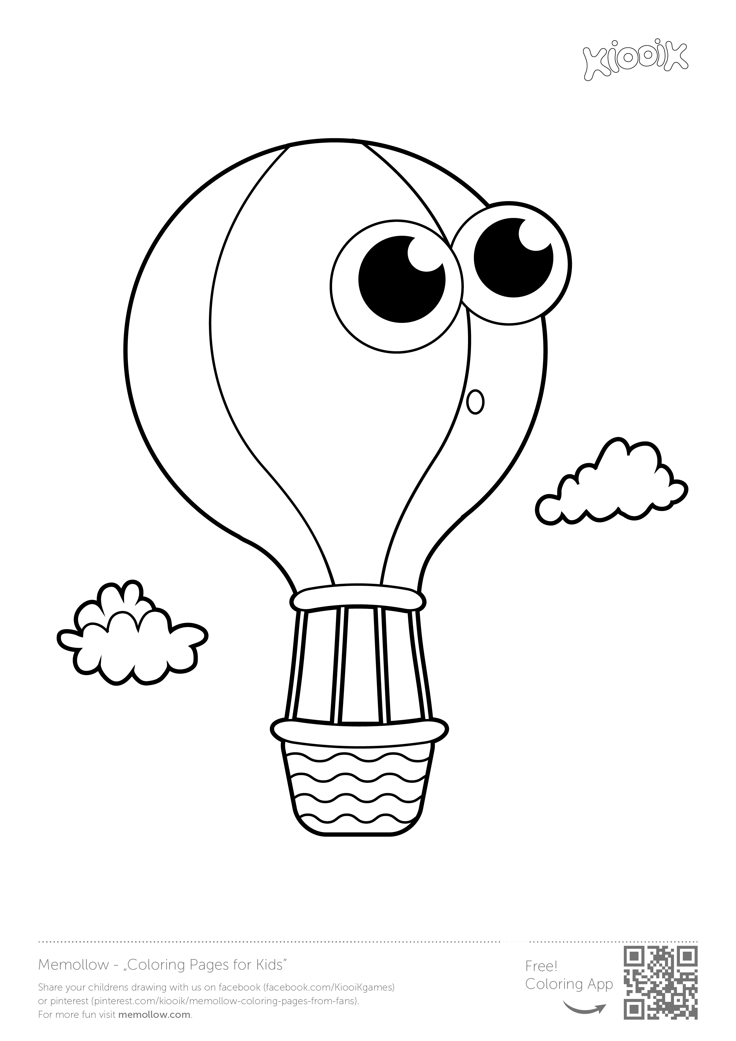 u0026quot balloon u0026quot   memollow to print  coloring pages for  kids printables