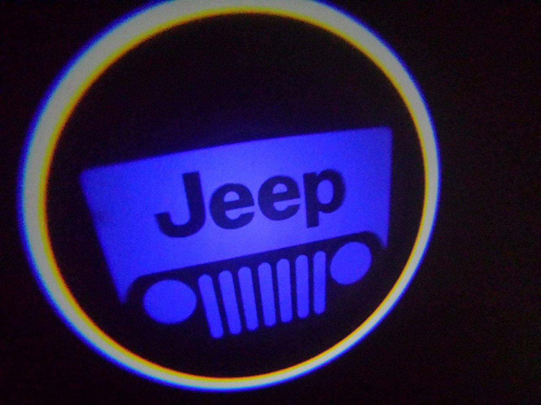 WIRELESS Jeep BLUE Ghost Door Logo Projector