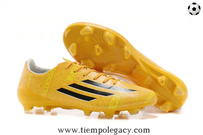 the best attitude 32dca dfe75 Giallo Leo Messi ADIDAS ADIZERO F50 FG Uomo Messi Football Boots, Cheap  Football Shoes,