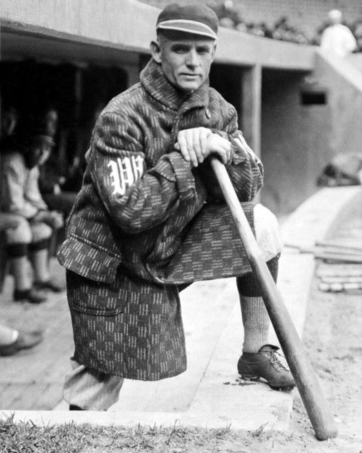 Photo of Amazing Checkered Coat on Senators' Skipper Clark Griffith | Ghosts of DC