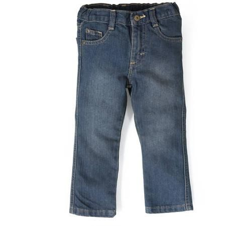 dbc58f114 x2/16 Wrangler Baby Toddler Boy Slim Straight Jeans - Walmart.com ...