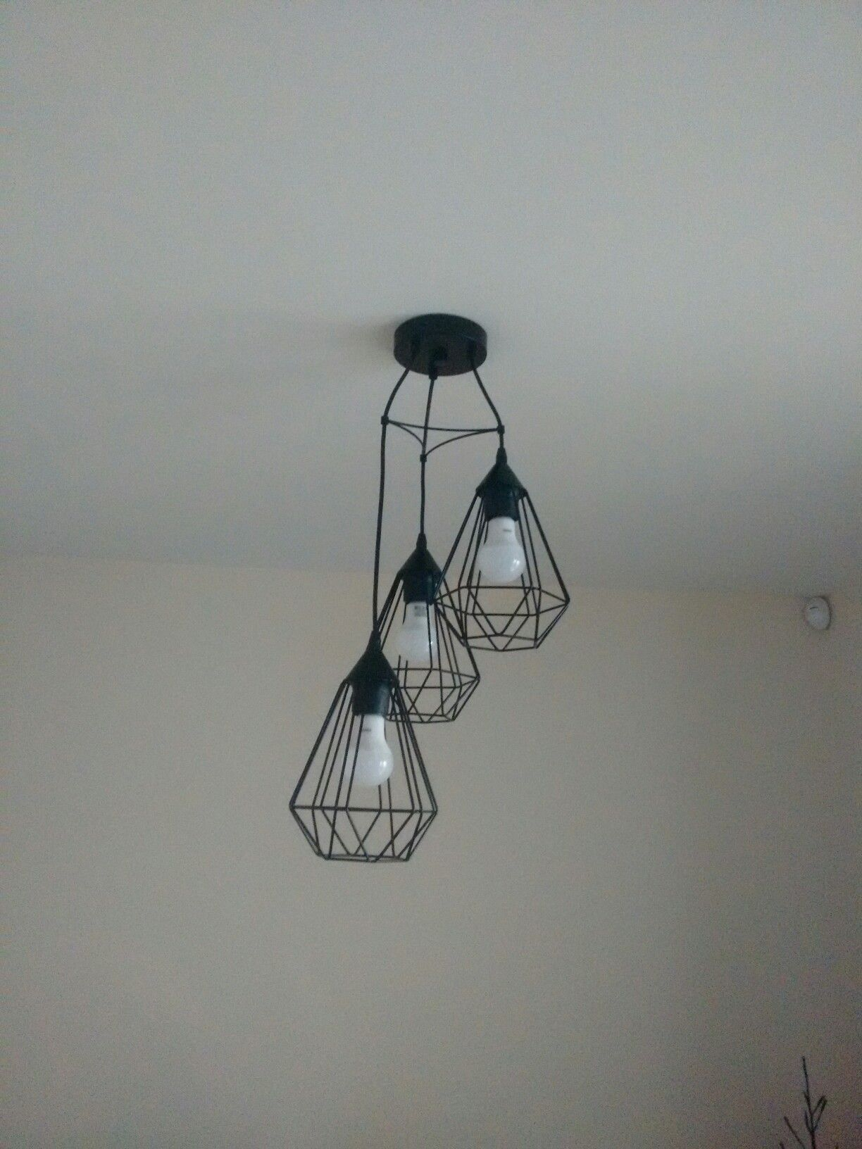 Eglo Verlichting Made Eglo Tarbes Black Triple Drop Cluster Pendant Light Ház Házak