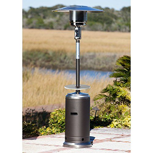 Fire Sense Standard Series Patio Heater With Adjustable Table P