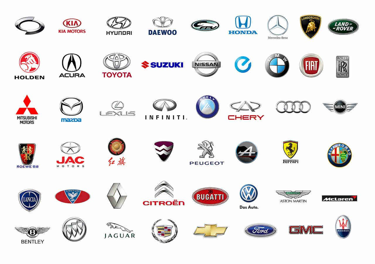 Foreign Car Symbols This is an all ...