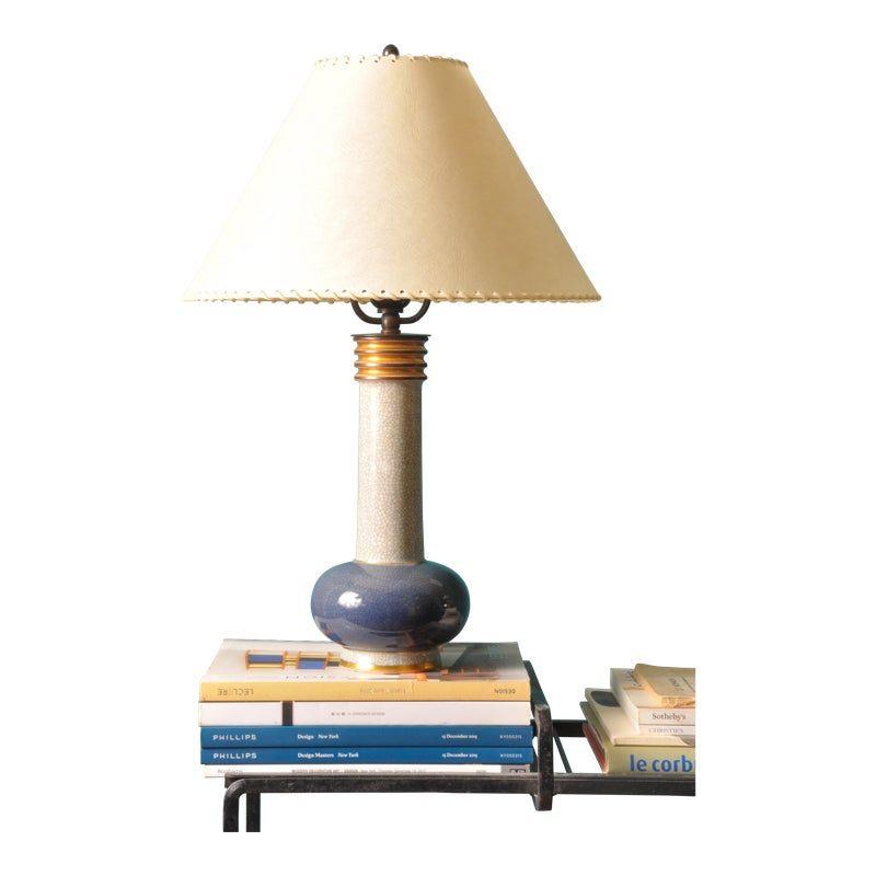 Royal Copenhagen Table Lamp 1950s Table Lamp Antique Table Lamps Victorian Lamps