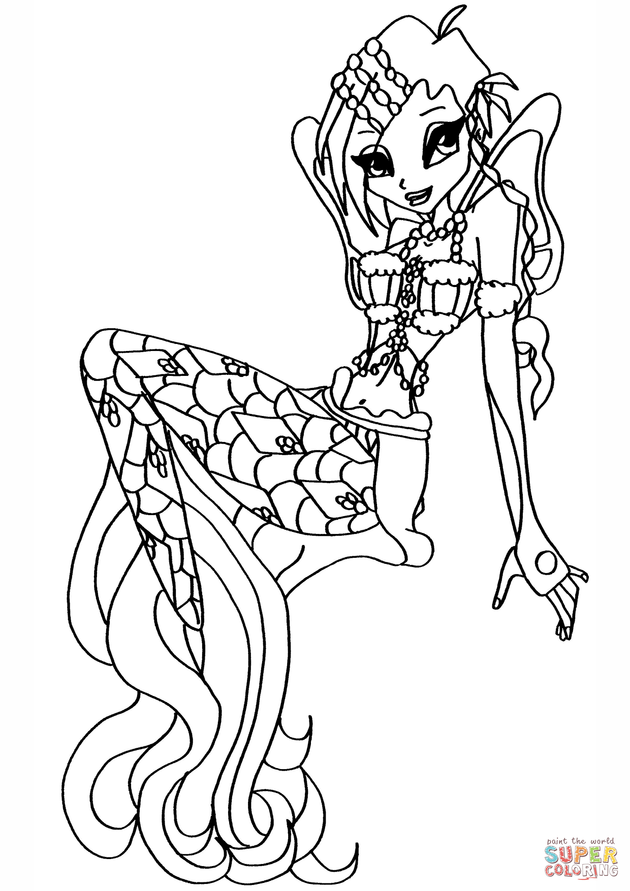 Winx club coloring pages - Google Search | Coloring: People ...