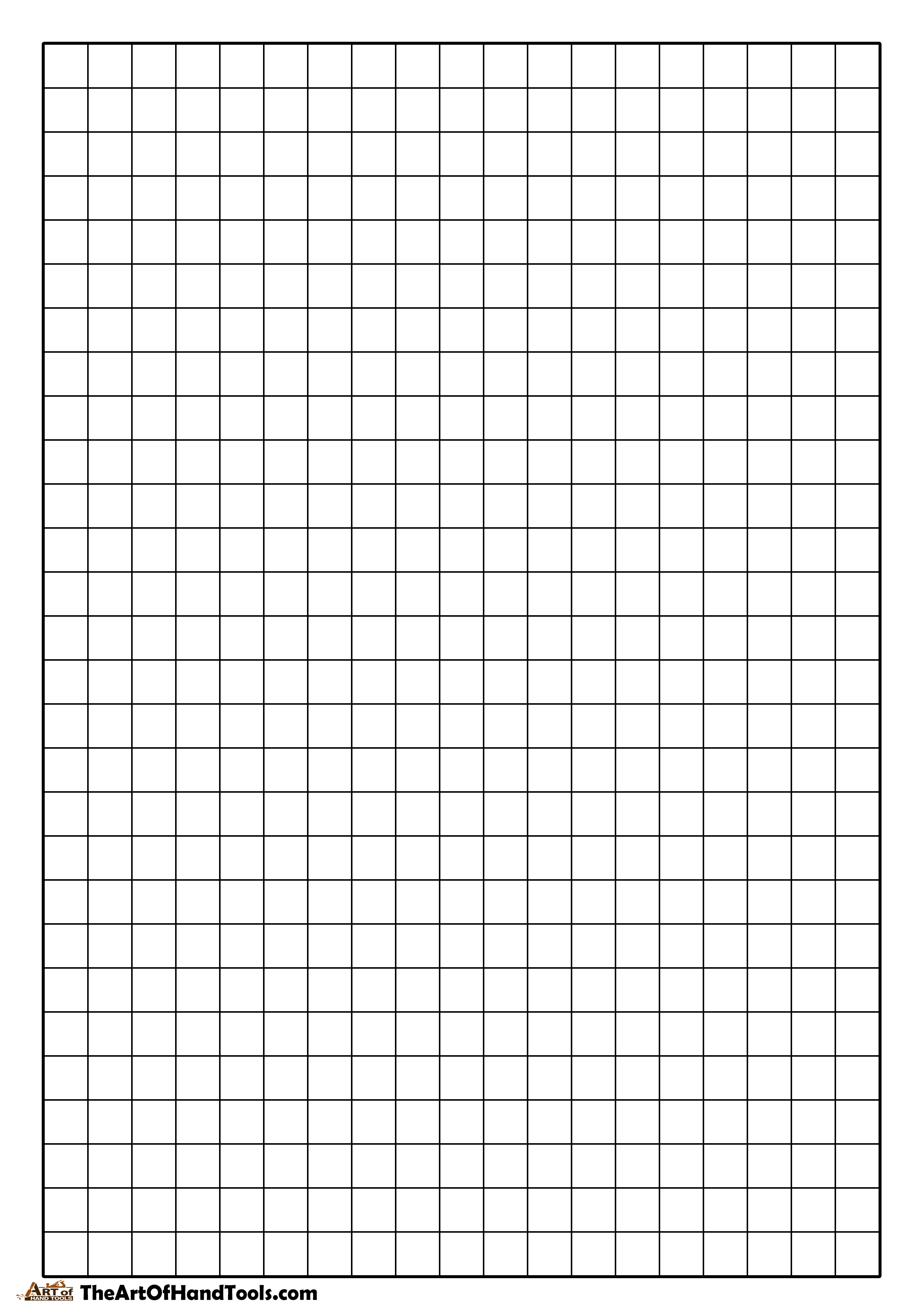 Blank graph paper ready for shop layout. Head over to the