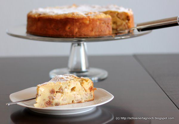 Schöner Tag noch! Food-Blog mit leckeren Rezepten für jeden Tag: Sonntagssüß: Polenta-Apfelkuchen nach Jamie Oliver