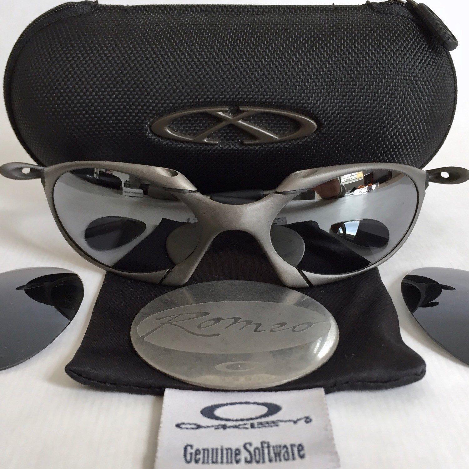 Oakley In Almighty Metal The X 2019 OneAccessorize Romeo Etsy 92EDHI