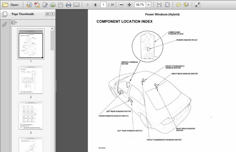 Honda Civic Hybrid 2003 2005 Service Repair Manual In 2020 Honda Civic Hybrid Honda Civic Repair Manuals