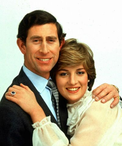 Charles, Prince of Wales and Lady Diana Spencer's official engagement photographs