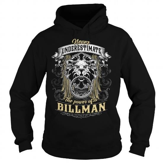 BILLMAN BILLMANBIRTHDAY BILLMANYEAR BILLMANHOODIE BILLMANNAME BILLMANHOODIES  TSHIRT FOR YOU