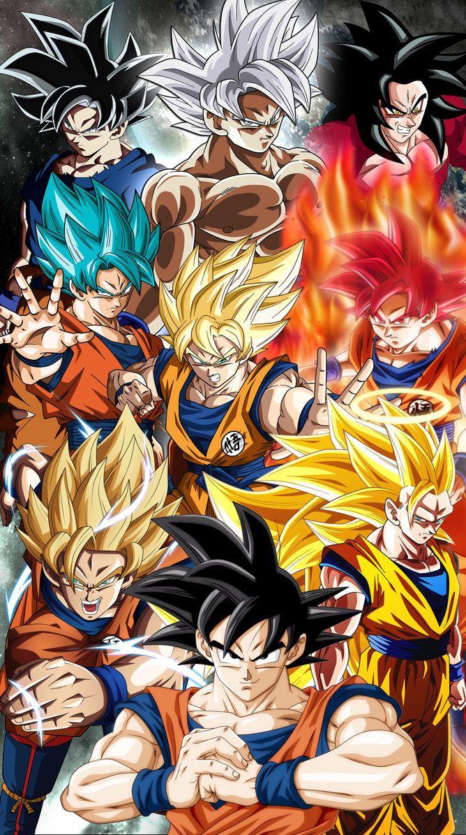 Goku Complete C By Jemmypranata Dragon Ball Super Manga Anime Dragon Ball Super Dragon Ball Goku