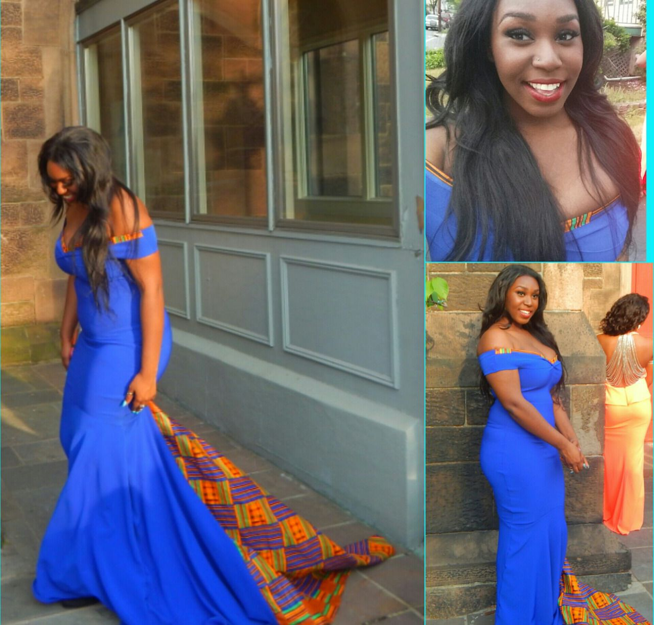 Black Fashion Vanesa Nj Kente Prom Dress Submitted By Ig Printed Prom Dresses African Print Fashion Dresses Simple Prom Dress [ 1224 x 1280 Pixel ]