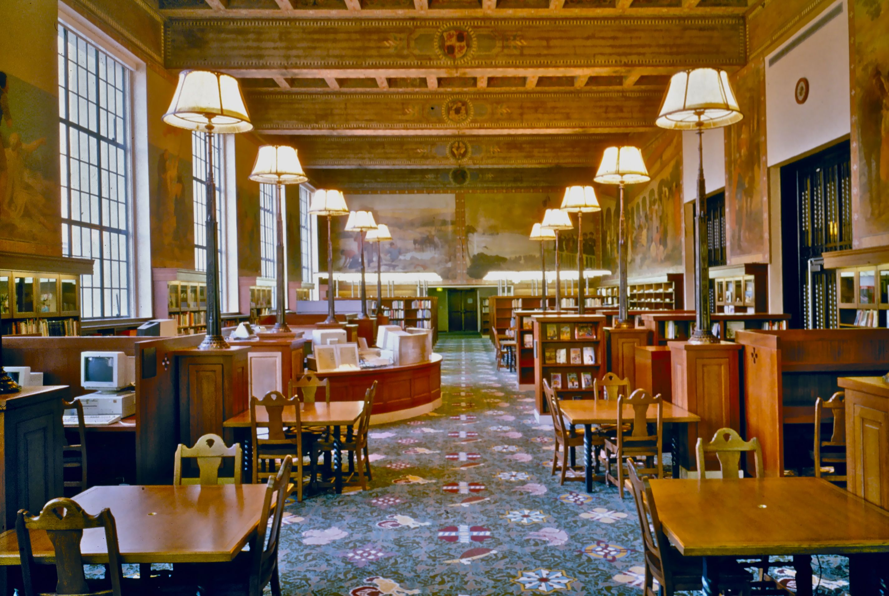 Children's Reading Room, L.A. Public Library.Bertram Goodhue, Architect.