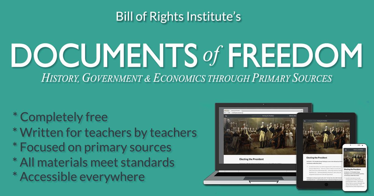 Documents Of Freedom Social Studies Middle School Teaching Social Studies Social Studies Resources