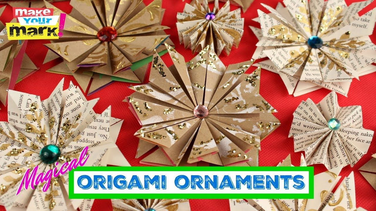 Photo of Magical Origami Ornaments